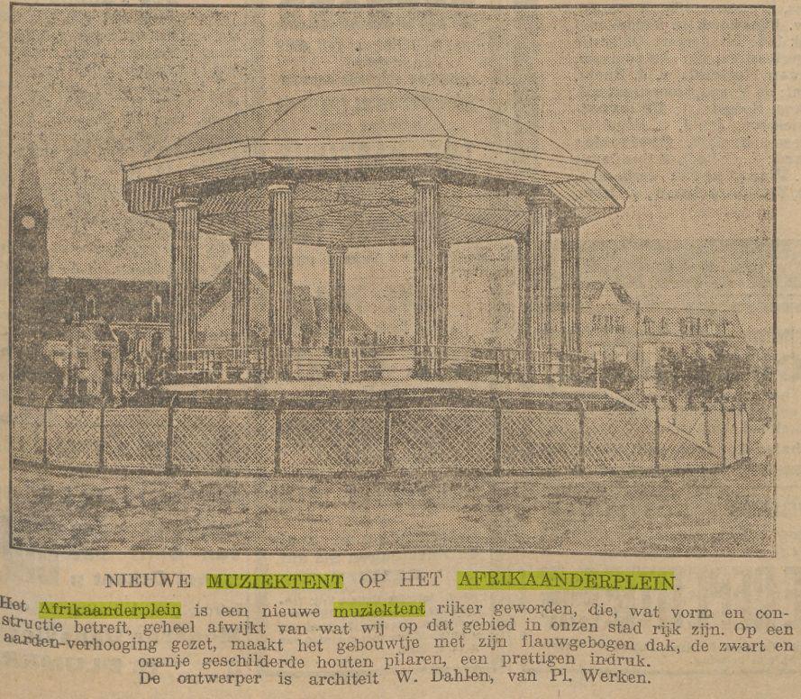 Afrikaanderplein(Voorwaarts1-9-1922)