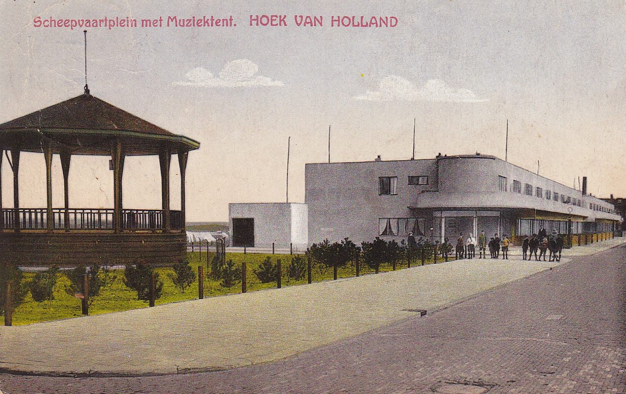 hoek van holland scheepvaartpleinca1930